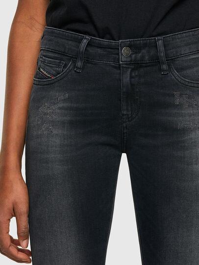 Diesel - Slandy 069SB, Black/Dark grey - Jeans - Image 3
