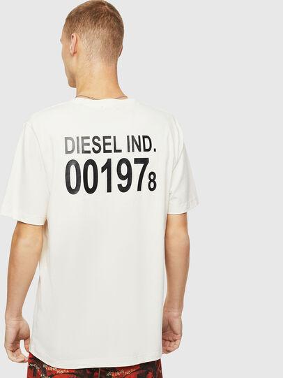 Diesel - T-JUST-VINT, White - T-Shirts - Image 2
