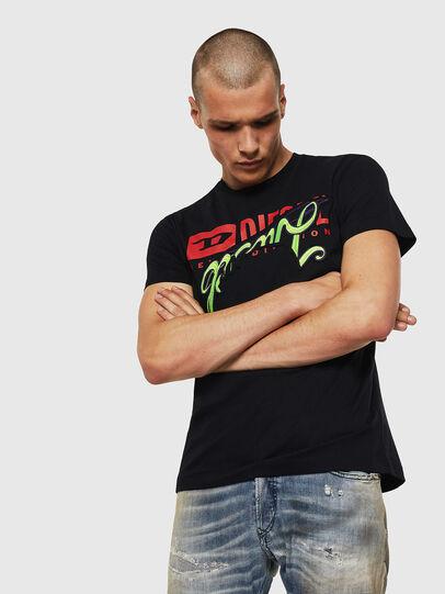 Diesel - T-DIEGO-BX1, Black - T-Shirts - Image 1