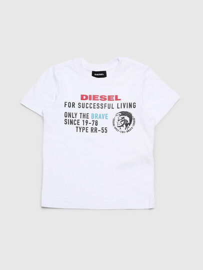 Diesel - TDIEGOXB-R, White - T-shirts and Tops - Image 1
