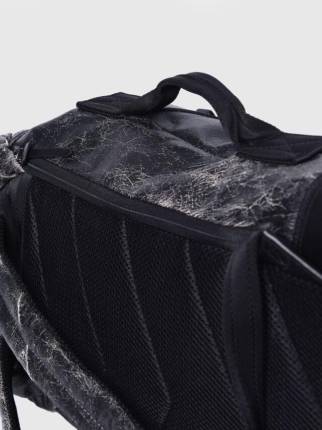 Diesel - L-BLAID RANNER BACK, Black Leather - Backpacks - Image 5