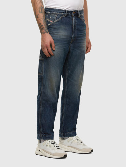 Diesel - D-Franky 009EW, Dark Blue - Jeans - Image 5