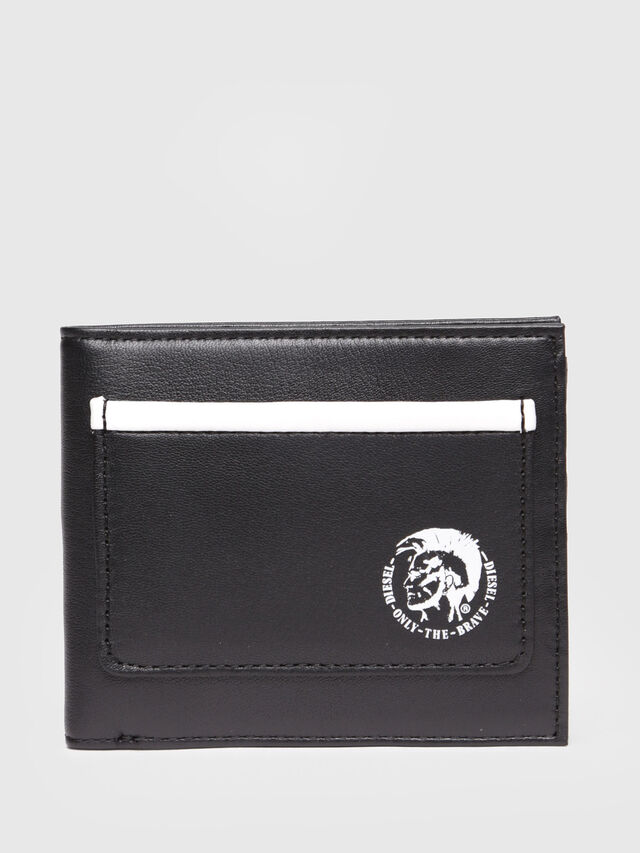 Diesel - HIRESH S, Black/White - Small Wallets - Image 1