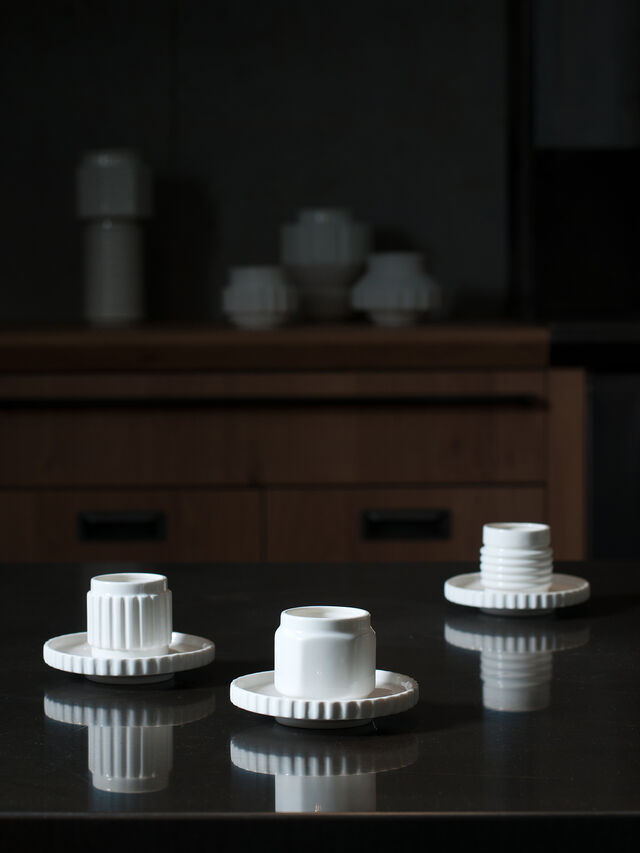 Living 10973 MACHINE COLLEC, White - Cups - Image 3