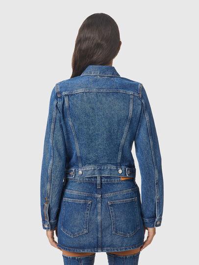 Diesel - DE-LIMMY, Medium blue - Denim Jackets - Image 2
