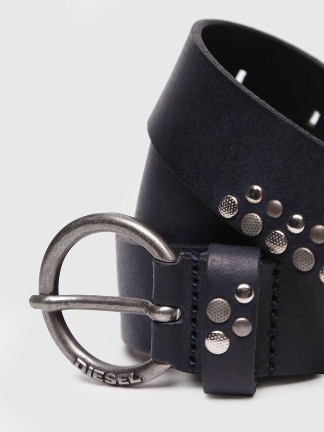 Diesel - B-WANNA, Dark Blue - Belts - Image 2