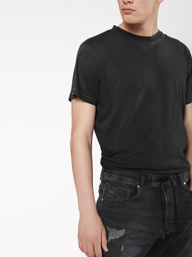 Diesel - Narrot JoggJeans 069AF, Black/Dark grey - Jeans - Image 3