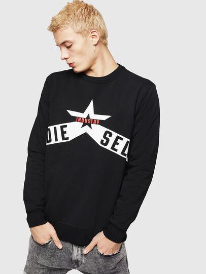 Diesel - S-GIR-A2, Black - Sweaters - Image 4