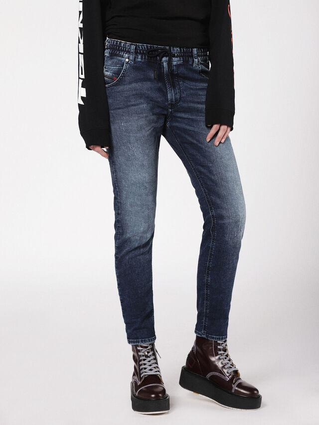 Diesel - Krailey JoggJeans 0699Z, Medium blue - Jeans - Image 1