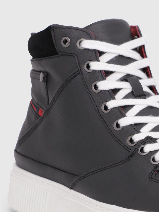 Diesel - S-DANNY MC, Black/Red - Sneakers - Image 4