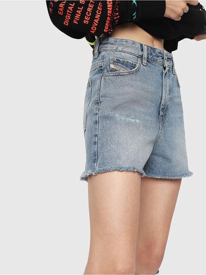 Diesel - DE-EISELLE, Blue Jeans - Shorts - Image 3
