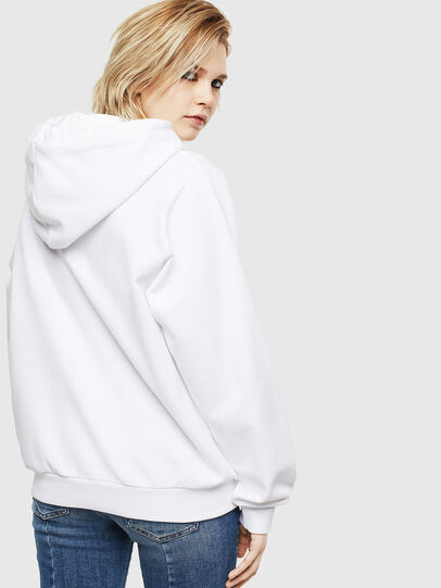Diesel - F-ANG-HOOD-S1, White - Sweaters - Image 2