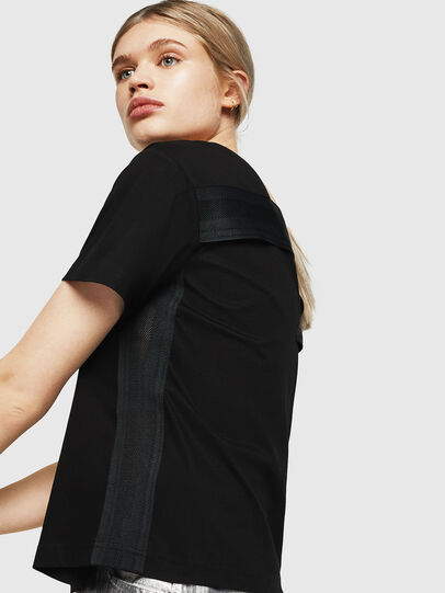 Diesel - T-RYLY, Black - T-Shirts - Image 3