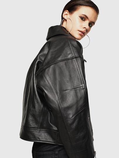 Diesel - LJESIV,  - Leather jackets - Image 5