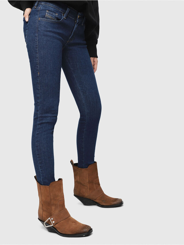 Diesel - Slandy Low 082AA, Medium blue - Jeans - Image 3