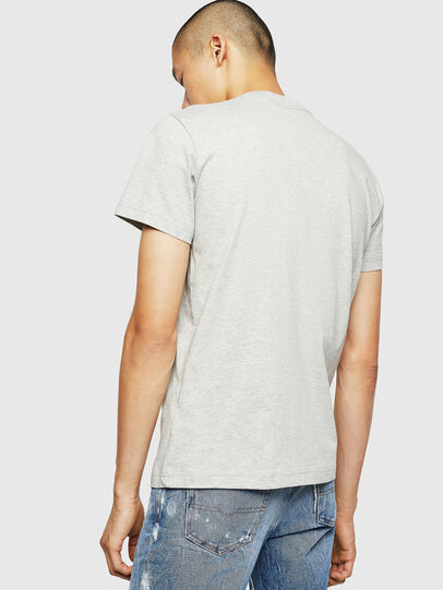 Diesel - T-DIEGO-B6, Light Grey - T-Shirts - Image 2