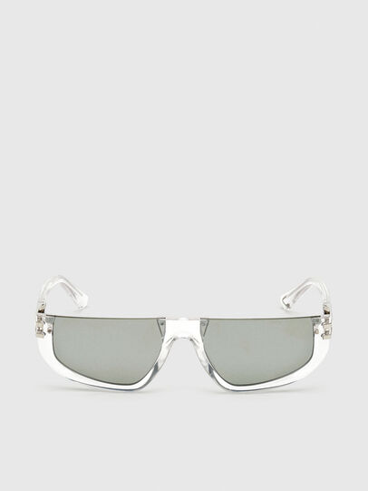 Diesel - DL0315, White - Sunglasses - Image 1