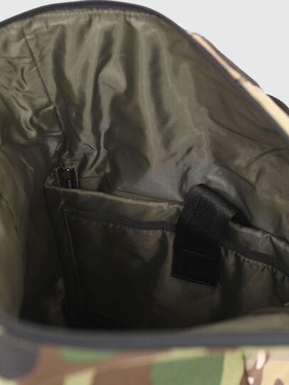 Diesel - ROLAP, Green Camouflage - Backpacks - Image 4