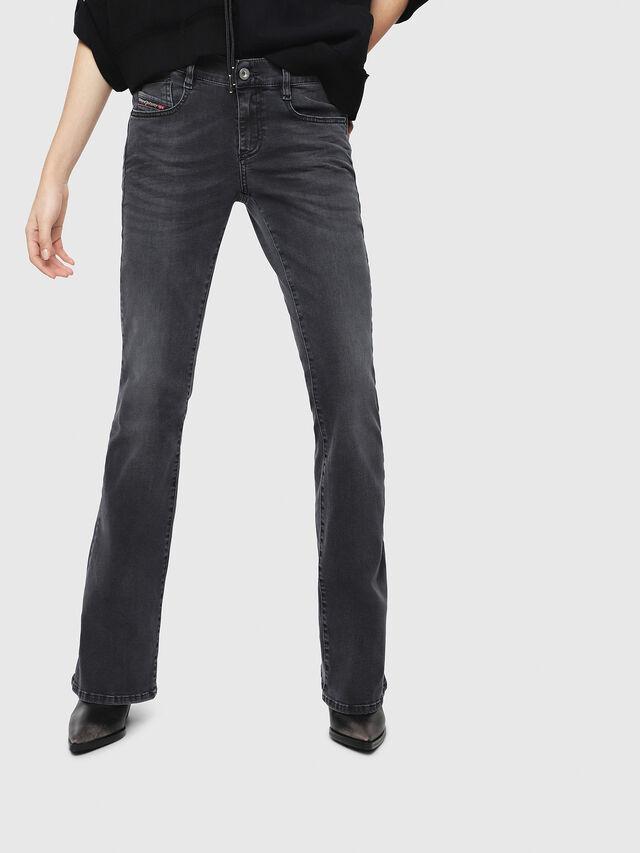 Diesel - D-Ebbey 069EQ, Black/Dark grey - Jeans - Image 1