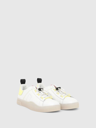 Diesel - S-CLEVER SO C, White/Yellow - Sneakers - Image 2