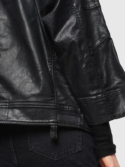 Diesel - D-JINNIUS JOGGJEANS, Black - Denim Jackets - Image 6