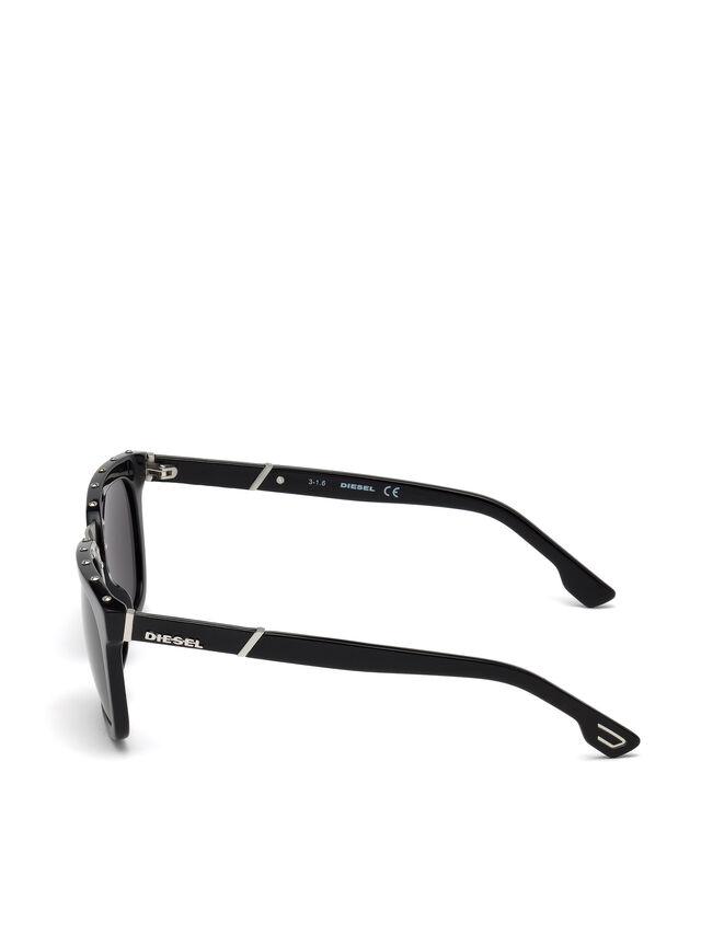 Diesel - DL0212, Black - Eyewear - Image 3