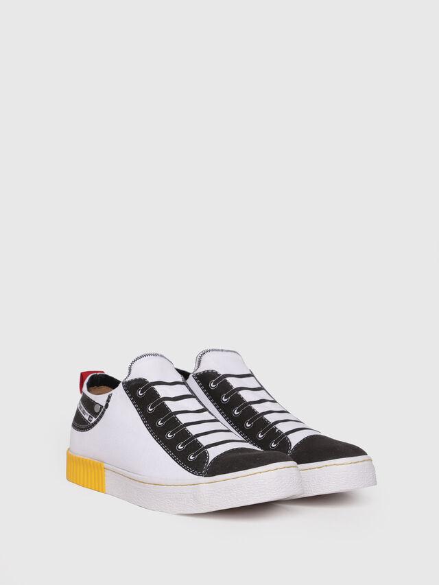Diesel - S-DIESEL IMAGINEE LOW, White - Sneakers - Image 3