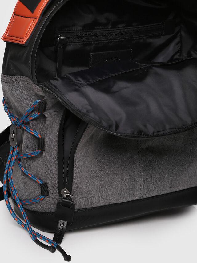 Diesel - D-MASTER BACK, Grey - Backpacks - Image 4