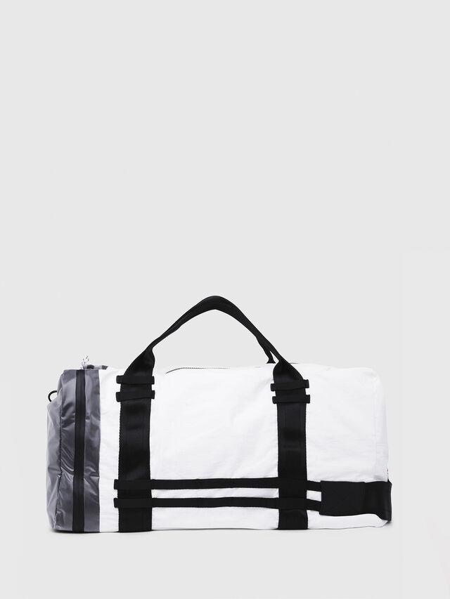 Diesel - M-CAGE DUFFLE M, White/Black - Travel Bags - Image 2