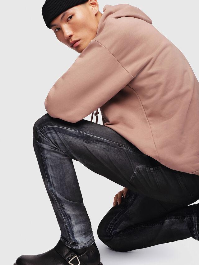Diesel - Thommer JoggJeans 086AZ, Black/Dark grey - Jeans - Image 3