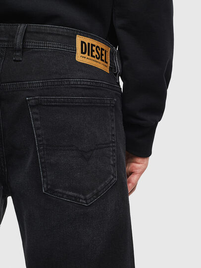 Diesel - THOSHORT, Black - Shorts - Image 5
