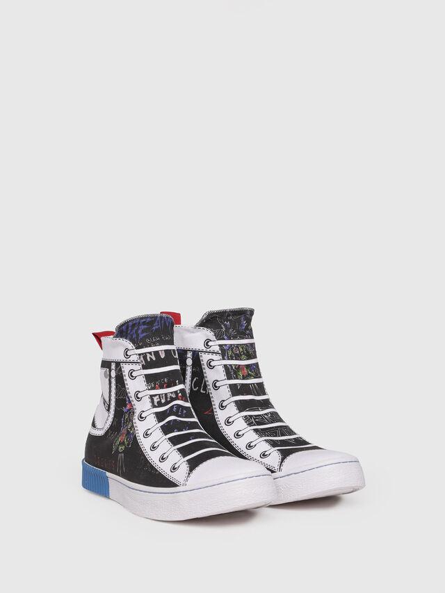 Diesel - S-DIESEL IMAGINEE MID, White/Black - Sneakers - Image 3