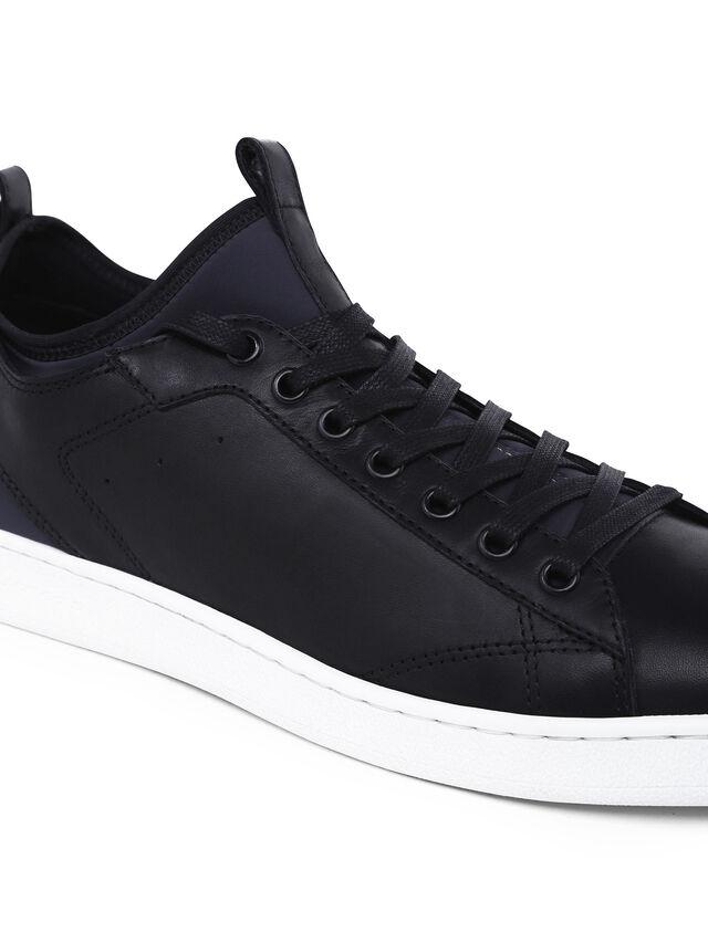 Diesel - S18ZERO, Dark Blue - Sneakers - Image 4