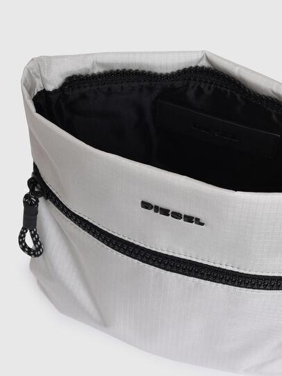 Diesel - F-URBHANITY CROSS, Silver - Crossbody Bags - Image 4