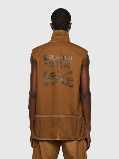 Diesel - J-HOWE, Brown - Jackets - Image 2