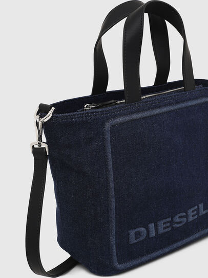 Diesel - PUMPKIE, Dark Blue - Satchels and Handbags - Image 4