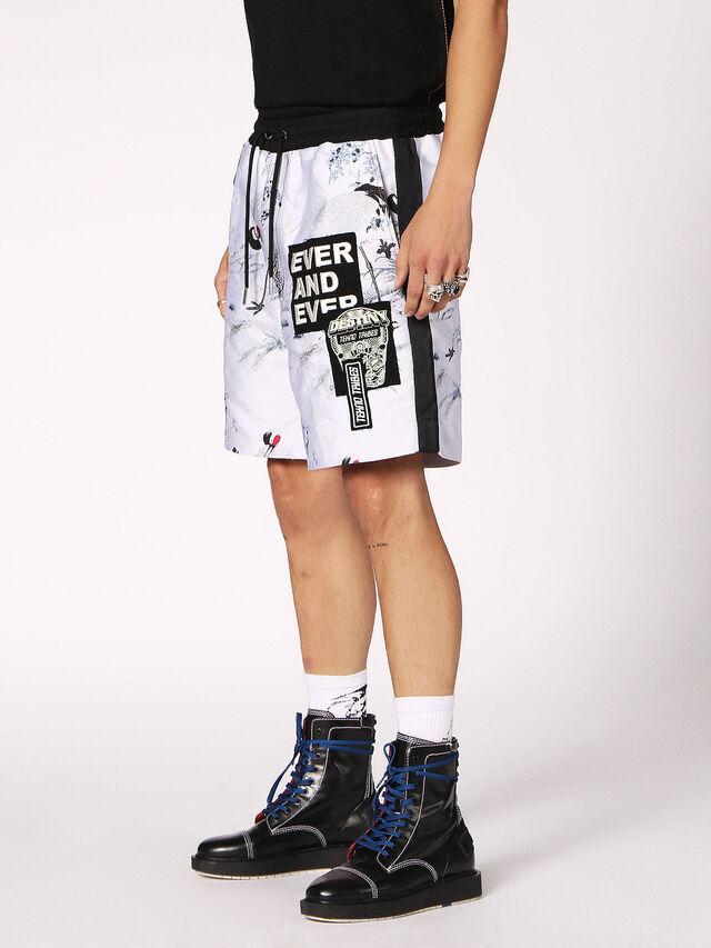 Diesel - P-GROUND, White - Shorts - Image 3