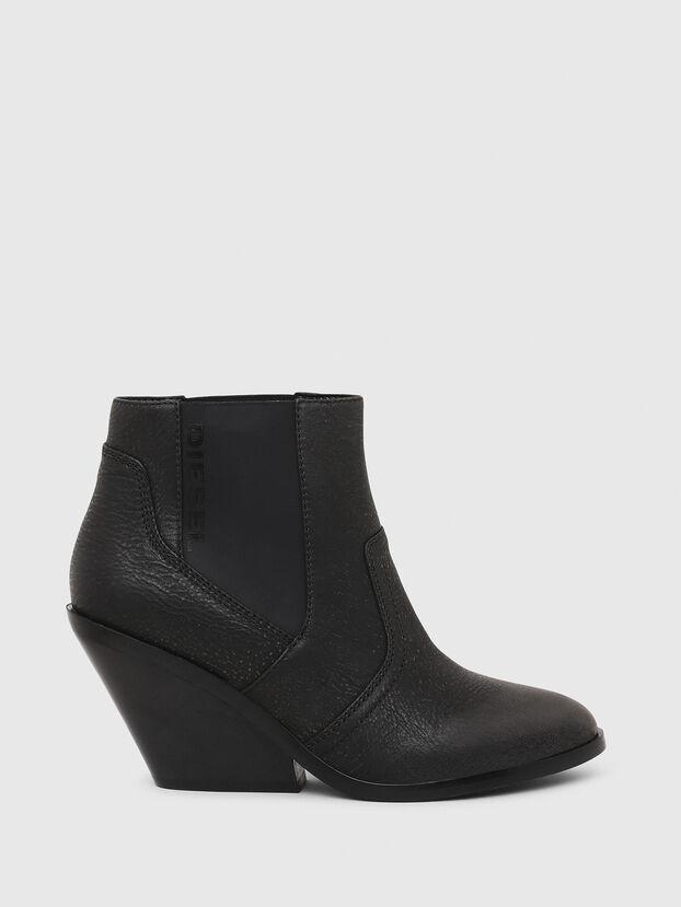 D-FLAMINGO CB, Black - Ankle Boots