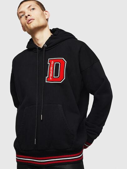 Diesel - S-KSAND, Black - Sweaters - Image 1