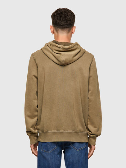 Diesel - S-GIRK-HOOD-ZIP-MOHI, Light Brown - Sweaters - Image 2
