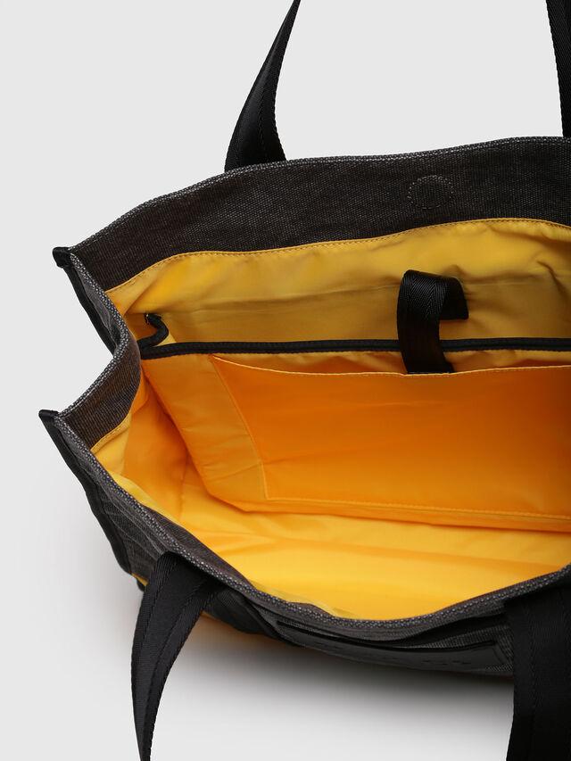 Diesel - M-CAGE SHOPPER, Dark Melange - Shopping and Shoulder Bags - Image 3