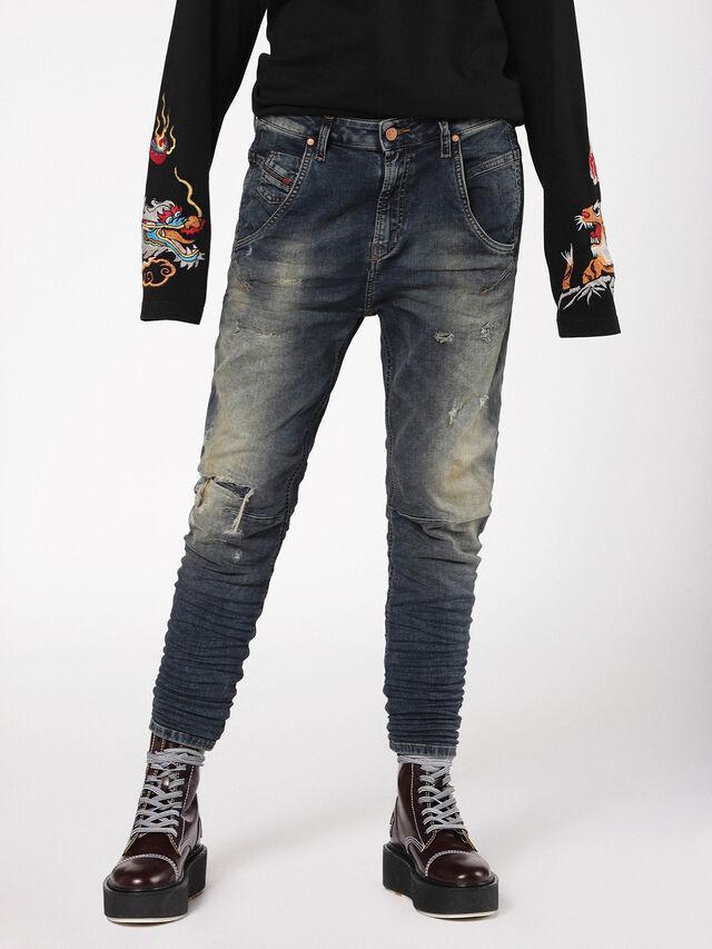 Diesel - Fayza JoggJeans 0699V, Dark Blue - Jeans - Image 3