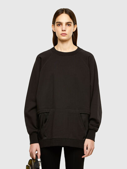 Diesel - F-MIX, Black - Sweaters - Image 1