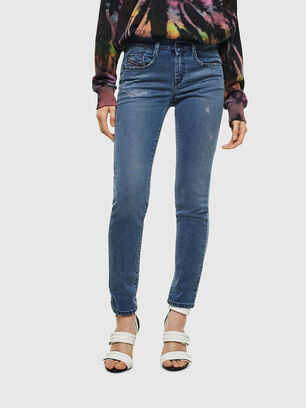 D-Ollies JoggJeans 069MC, Medium blue - Jeans