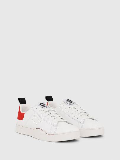 Diesel - S-CLEVER LOW, White/Red - Sneakers - Image 2