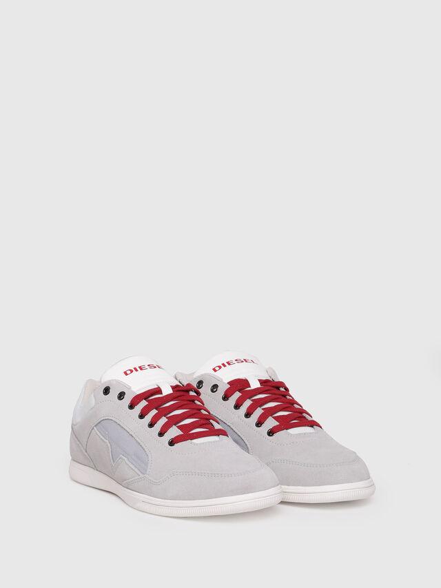 Diesel - S-HAPPY LOW, Light Grey - Sneakers - Image 3