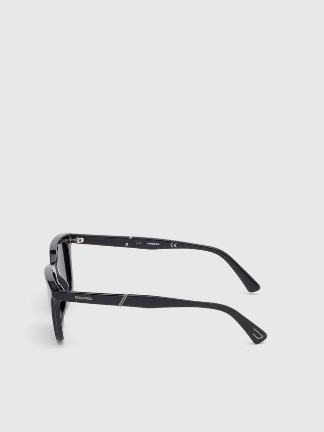Diesel - DL0282, Black - Eyewear - Image 3