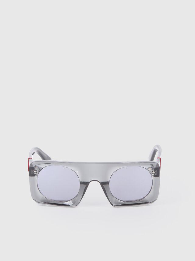Diesel - DL0292, Gray/Black - Eyewear - Image 1