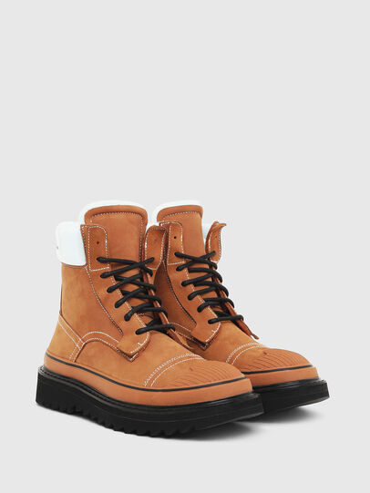 Diesel - H-SHIROKI DBBT, Light Brown - Boots - Image 2