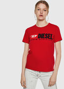 T-SILY-DIVISION, Fire Red - T-Shirts